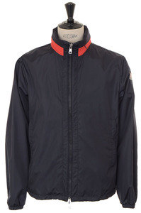 View the Goulier Jacket - Navy online at Kafka