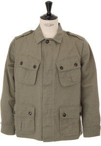 View the Tropical-44 Jacket - Wood online at Kafka