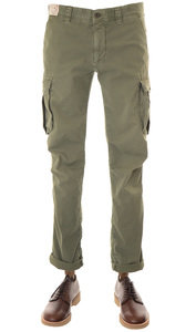 View the 1SN647 90695 Slim Fit Cargo Pant - Army Green online at Kafka