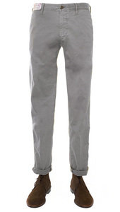 View the 1ST603 90664 Stretch Cotton Slim Fit - Grey online at Kafka