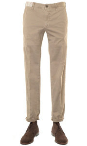 View the 1ST603 90664 Stretch Cotton Slim Fit - Khaki online at Kafka