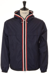 View the Anton Hooded - Navy online at Kafka