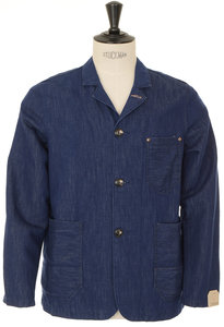 View the Indigo Jacket 44 - Blue online at Kafka