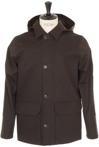 View the Lane District Parka - Brown online at Kafka