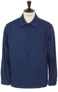 View the Liquette Haddock Shirt - Indigo online at Kafka