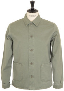 View the Kerlouan Jacket - Khaki online at Kafka