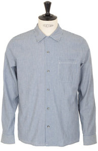 View the Luca Shirt - Indigo online at Kafka