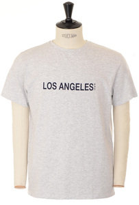 View the Los Angeles T-shirt - Grey online at Kafka