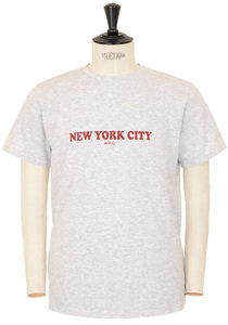 View the New York T-shirt - Grey online at Kafka