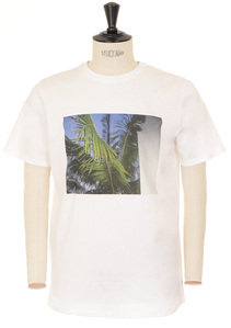 View the Palm Tree T-shirt - White online at Kafka