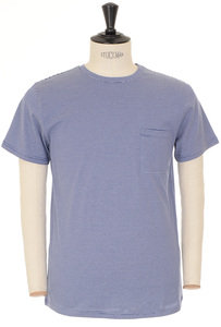 View the Laurent T-shirt - Blue online at Kafka