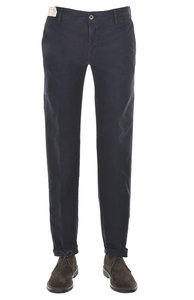 View the 1ST603 40611 825 Stretch Cotton Slim Fit - Navy online at Kafka