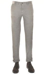 View the 1ST603 40637 909 Textured Stretch Cotton Slim Fit - Grey online at Kafka