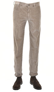 View the 1ST603 4617R 401 Stretch Cotton Slim Fit Cord - Stone online at Kafka