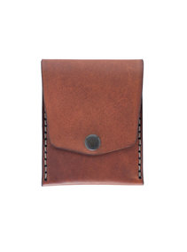 View the Vertical Pocket Wallet Saddle Tan online at Kafka