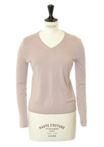 View the 850003 V Neck Beige  online at Kafka