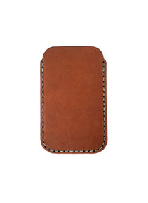 View the iPhone 4/4S Sleeve Saddle Tan online at Kafka