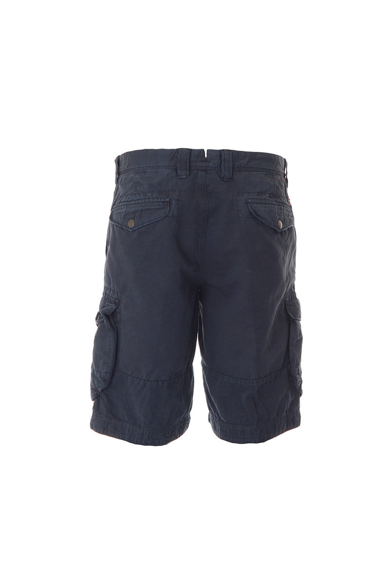 Incotex Slacks 1SB536 90698 Regular Fit Cargo Short - Navy