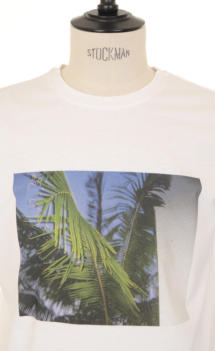 A.P.C. Palm Tree T-shirt - White